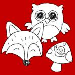 Woodland Creatures (August 19 – 23)